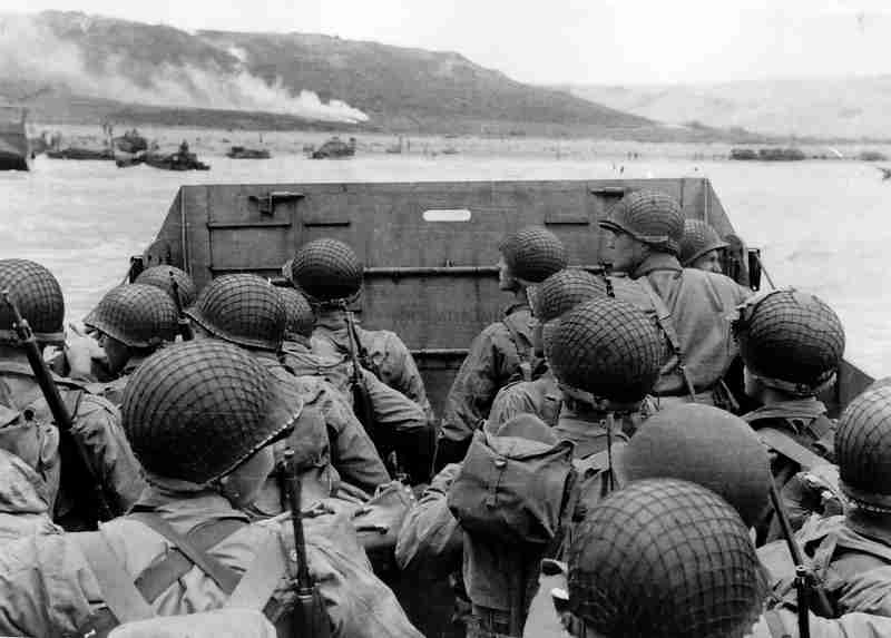 D-Day American Troops