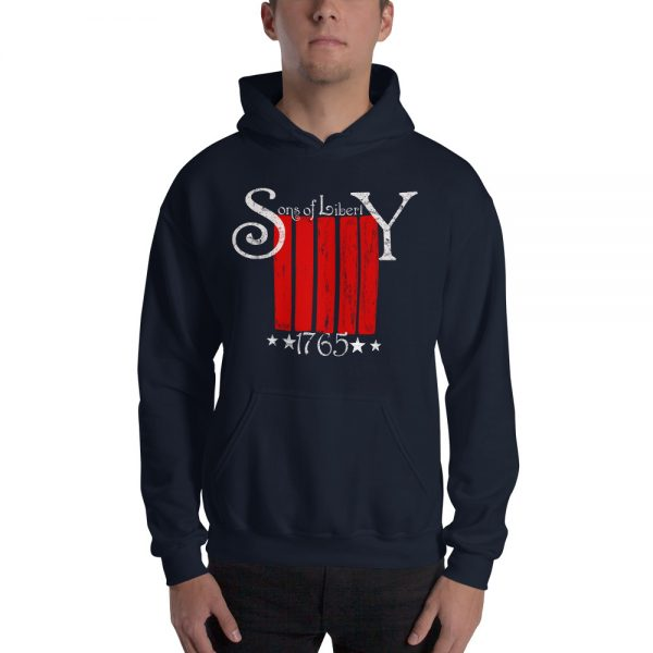 Sons of Liberty Striped Hoodie
